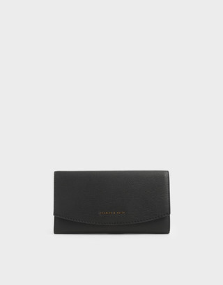 Charles & Keith Mini Front Flap Long Wallet