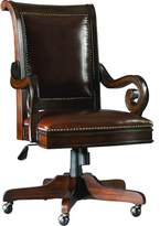 Hooker Furniture European Renaissance II Leather Bankers Chair