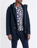 Sandro Flap-pocket Cotton-blend Jacket