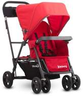 Joovy Caboose Ultralight Graphite Stand-On Tandem Stroller in Red