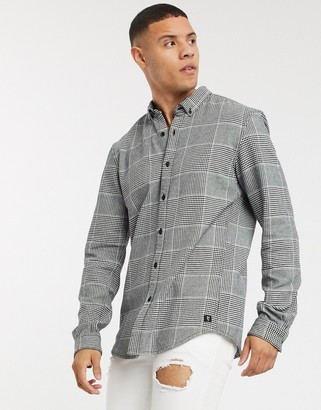 Tom Tailor check shirt-Black