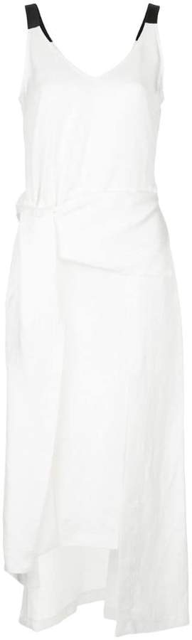 Taylor long asymmetric dress