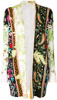 Etro paisley and floral print cardigan