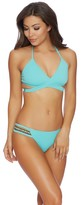 Reef Cove Solids Wrap Bikini Top