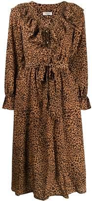 Jovonna London Kedu leopard print dress