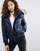 Abercrombie & Fitch Core Puffer Jacket