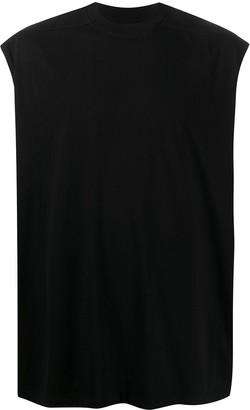 Rick Owens solid-color tank T-shirt
