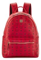 MCM Stark No Stud Medium Backpack, Red