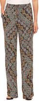 Sag Harbor Fiesta Woven Pull-On Pants