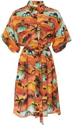 Oasis Chufy safari dress