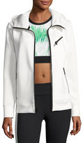 ALALA Neo Zip-Up Athletic Jacket, White