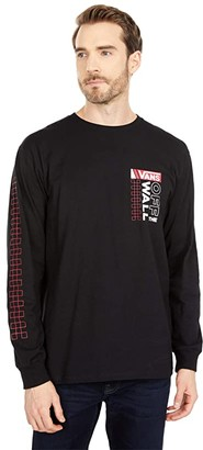 Vans Future Standard Long Sleeve Tee (Black) Men's Clothing