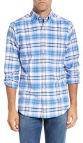 Vineyard Vines Men's 'Bowhead' Slim Fit Plaid Sport Shirt