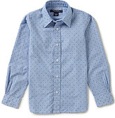 Brooks Brothers Little/Big Boys 4-20 STriped Dobby Shirt