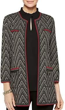 Misook Chevron Knit Jacket