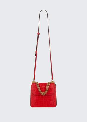 Givenchy Catena Medium Crocodile Shoulder Bag