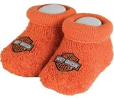 SGI Harley-Davidson Baby Booties Socks 0-3 Months