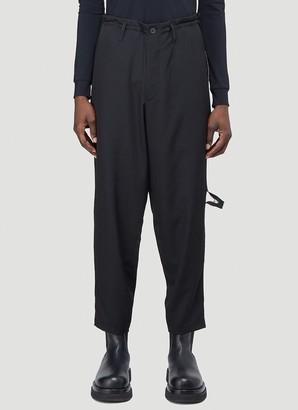 Yohji Yamamoto Side Zip Pants