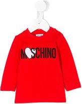 Moschino Kids - heart logo top - kids - Cotton/Spandex/Elastane - 9 mth