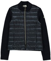 Moncler High-Neck Zip-Up Cardigan