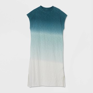 Universal Thread Women's Sleeveless Dip Dye T-Shirt Dress - Universal ThreadTM