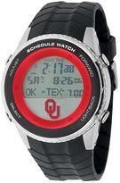 Game Time Oklahoma Sooners Stainless Steel Digital Schedule Watch - Men