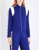Emilio Pucci Wave-print trim jersey jacket