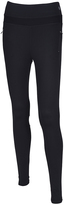Therapy Black Zip-Pocket Performance Leggings