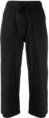 Majestic Filatures Cropped Pull-On Trousers