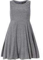 Dorothy Perkins Womens **Vila Navy Stripe Denim Dress- Blue