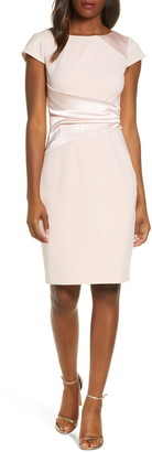 Harper Rose Side Ruched Sheath Dress