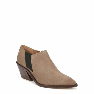 Franco Sarto Womens Bleecker Taupe Booties 10 M