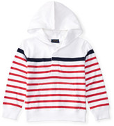 Polo Ralph Lauren Striped Cotton Jersey Hoodie (2-7 Years)