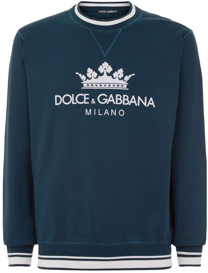 Dolce & Gabbana Crown Logo Sweatshirt