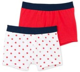 Petit Bateau Set of 2 boys print stretch jersey boxers