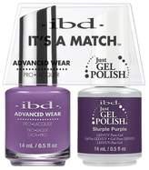 """IBD Advanced Wear - """"It's A Match"""" Duo - Slurple Purple - 14ml / 0.5oz Each"""
