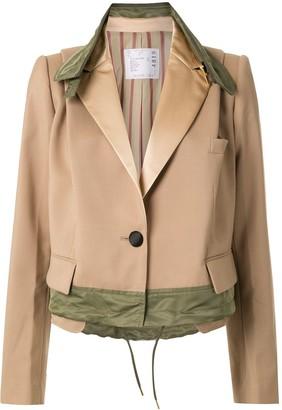 Sacai A-line jacket