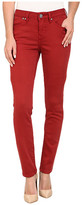 Jag Jeans Janette Mid Rise Slim Knit Denim in Cayenne