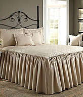 Noble Excellence Villa Quilted Ruffled Bedspread