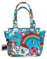 Ju-Ju-Be x tokidoki for Hello Sanrio Rainbow Dreams Be Itty Bitty Dolly Diaper Bag