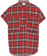 Fear Of God - Check Brushed Cotton Flannel Shirt - Mens - Red Multi