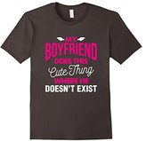 Kids My Boyfriend Doesn't Exist Funny Tee Vision T-Shirt 12