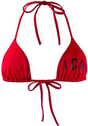 DSQUARED2 'Icon' bikini top