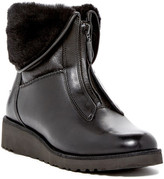UGG Caleigh Genuine Shearling Lined Zip Wedge Boot