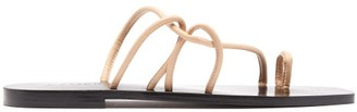 A.emery - Willow Top-loop Leather Sandals - Womens - Cream