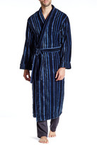 Majestic Flannel Shawl Collar Robe
