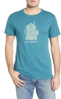 Patagonia Live Simply Home Graphic Organic Cotton T-Shirt