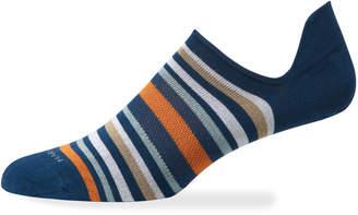 Marcoliani Milano Men's Portofino Stripe No-Show Socks