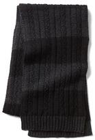 Gap Merino striped scarf