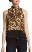 Romeo & Juliet Couture Sleeveless Mockneck Top